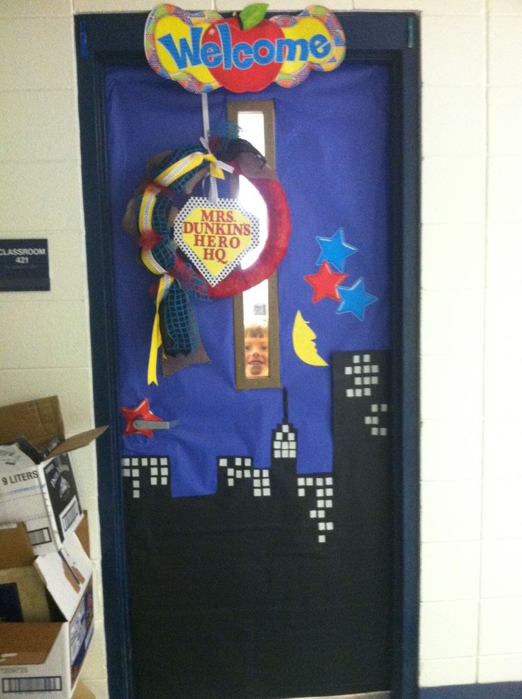 Superhero Classroom Decoration Ideas ~ Best ideas about superhero classroom door on pinterest