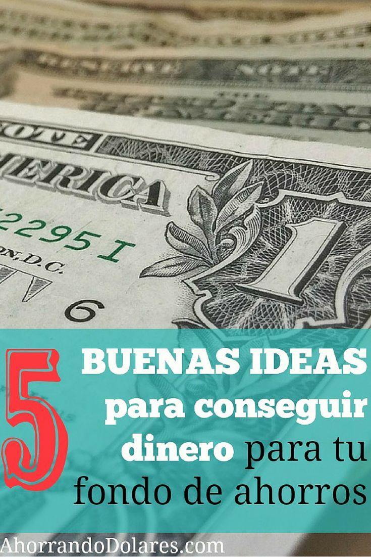 5 ideas que siempre funcionan para conseguir dinero ideas - Consejos para ahorrar dinero ...