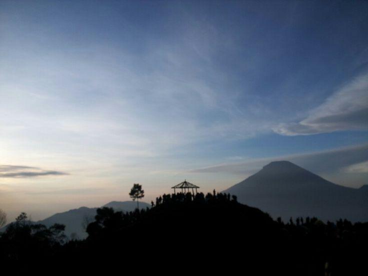 Waiting for sun rise.. Taken from bukit sikunir, dieng plateu, central java