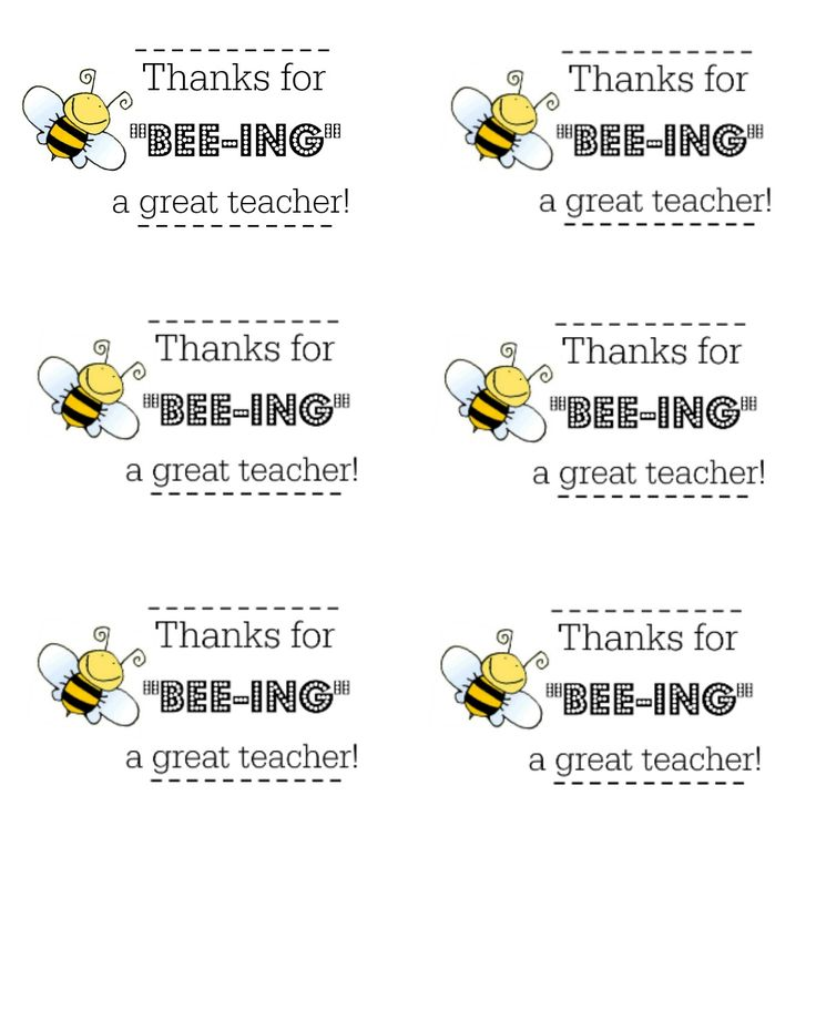 Put A Smile On An Educators Face This Holiday Season With Thanks For BEE ING Great Teacher Honey Jar Gift