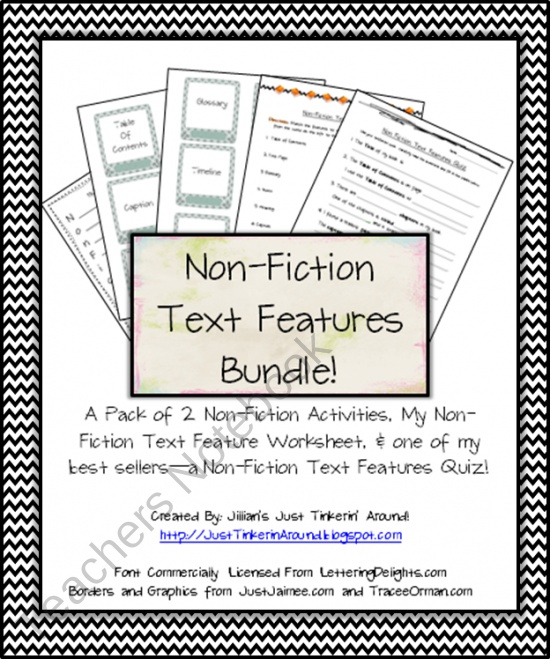 Literary Elements of a Non-Fiction Story