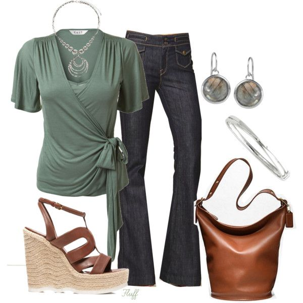 Stylish Outfit: Date Night, Green Tops, Woman Fashion, Weekend Outfits, Stylish Outfits, Fashionista Trends, Work Outfits, Casual Outfits, Spring Outfits