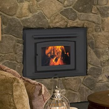 the fp16 arch pacific energy zero clearance fireplace showcases the fire brilliantly this arched