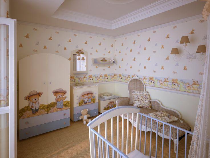 tapeta i okleina do pokoju dziecięcego
