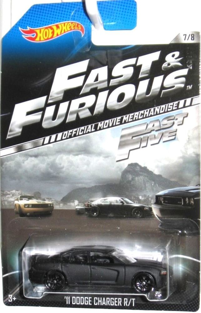 2011 Dodge Charger Hot Wheels 2014 FAST & FURIOUS FAST FIVE Movie Car #7/8 #HotWheels #Dodge
