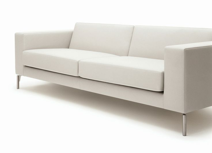 34 White Office Sofa