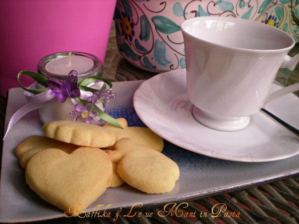 Biscotti di pasta frolla,ricetta dolce
