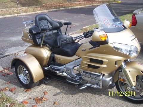 used honda goldwing trikes used 2006 honda goldwing trike for sale places to visit. Black Bedroom Furniture Sets. Home Design Ideas