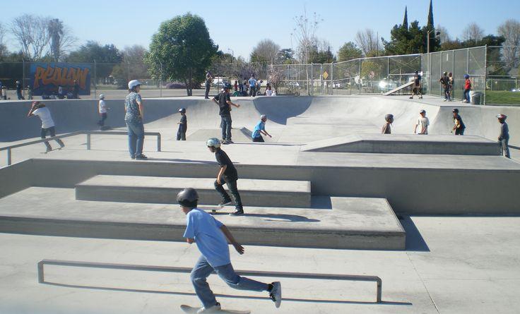 in line skate track park - Google Search