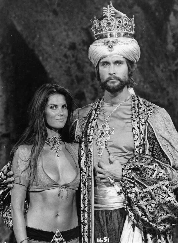 Caroline Munro and John Philip Law in The Golden Voyage of Sinbad (1974).