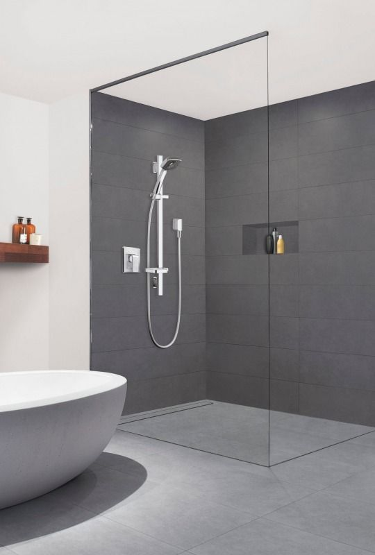 145 best bathrooms images on Pinterest Tips and tricks Towels Bathroom  heater sheet tile builtech co 100 Sheet Tile For Showers Images My Blog Best