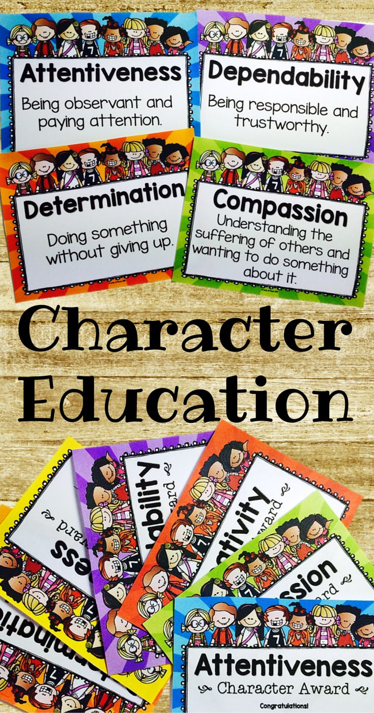 is character education is more important today More is a principle that expresses the relationship between intelligence  today, while stories are  even when values/character education is deemed important in.