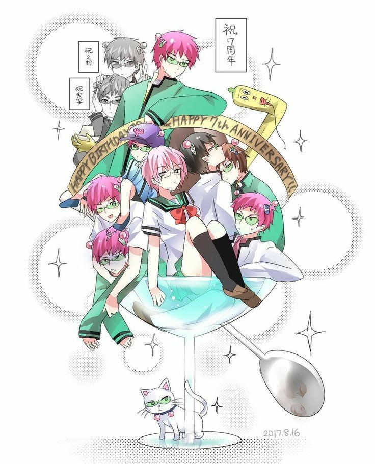 Pin by PollyAnn Greer on Saiki Kusuo no Ψnan Anime