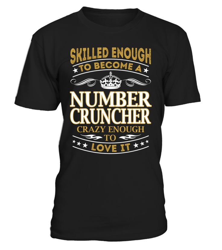 Number Cruncher - Skilled Enough To Become #NumberCruncher