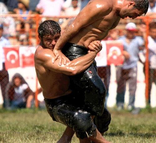 Turkish Oil Wrestler | Ringen, Kerle, Sport