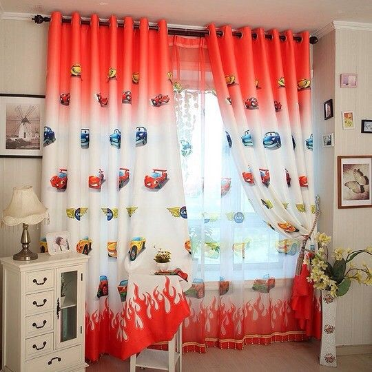 18 best cartoon blinds images on pinterest baby room for Boys curtain material