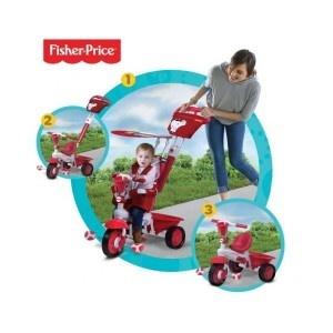 Un modo sicuro e giocoso per passeggiare con il tuo bambino. Royal di fisher price l'unico triciclo 3 in 1, funzionale per bambini da 10 a 36 mesi.