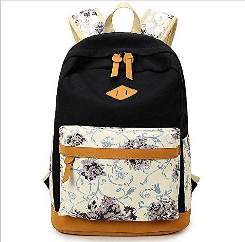 BLUBOON Schulrucksack Schulranzen Rucksack mit Blumendruck in Fashion Koreanische Art (Schwarz) BLUBOON http://www.amazon.de/dp/B018FVMJIQ/ref=cm_sw_r_pi_dp_FmILwb0V305TS