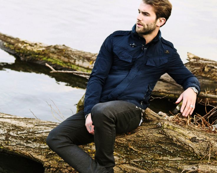 Lost in the landscapes of a Double Life, the Field Jacket can handle André Hamann's with style. Shop now: http://store.fay.com/Fay/c/217-Fay  www.fay.com