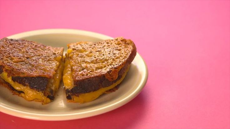 Not sure why a grilled cheese is showing up for Polenta - but I had to save this recipe