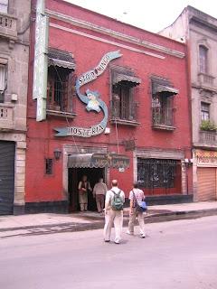 Hosteria de Santo Domingo, Oldest restaurant in Mexico City. Been in operation since 1860.