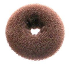 Hair Donut $4.99 from Fashion Mecca (just bought one & it is amazing)