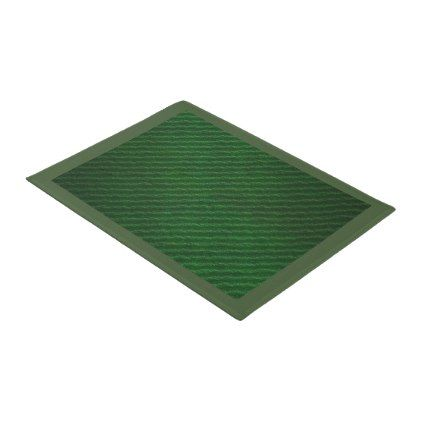 #Green Texture Print Door Mat - #doormats #home & #living
