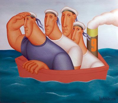 Roy Carruthers was born December 14, 1938 in Port Elizabeth, South Africa. He attended Technical College Art School in Port Elizabeth, winning its bronze medal in 1956. He has had solo exhibitions ranging from Puerto Rico to South Africa and has participated in group exhibitions throughout Europe and the United States.