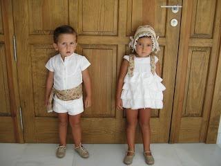 Flower children. Pajes de boda.