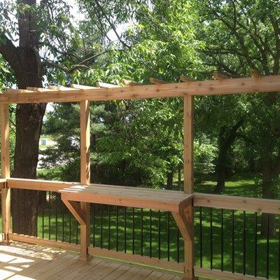 1000 Ideas About Cedar Deck On Pinterest Deck Railings