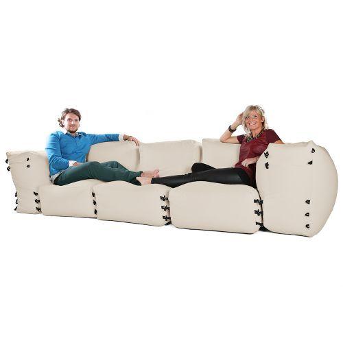 Amazing Modular Corner Sofa Bean Bags 5Pc 3 Seater Set Modular Inzonedesignstudio Interior Chair Design Inzonedesignstudiocom