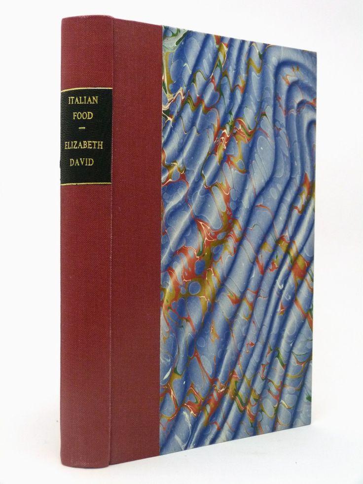 Italian Food by Elizabeth David, second impression in an attractive cloth binding