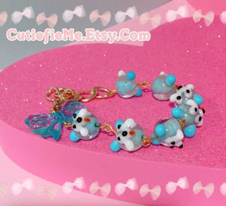 A personal favorite from my Etsy shop https://www.etsy.com/listing/592348741/kawaii-handmade-bear-head-glass-beads