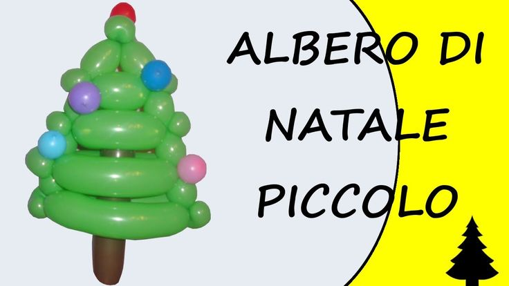 Video tutorial on how to make a Christmas tree with balloons twisting #christmas #ChristmasTree