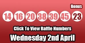 Here is the breakdown for the Lotto results of Wednesday 2nd April 2014: http://lottorafflenumbers.com/lotto-results-2nd-april/