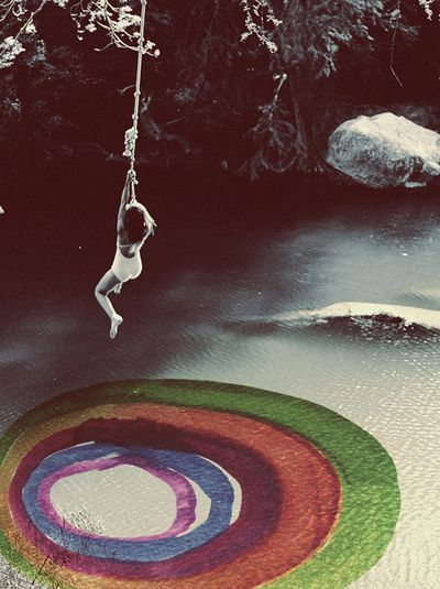 rope swing: Watercolors, Ropes Swings, Art, Rainbows, Alexandravalenti, Crows, Water Colors, Alexandra Valenti, Photography