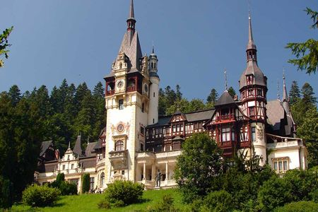 castle peles romenia