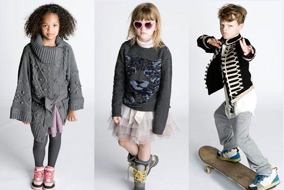 Moda prezentata de cei mici