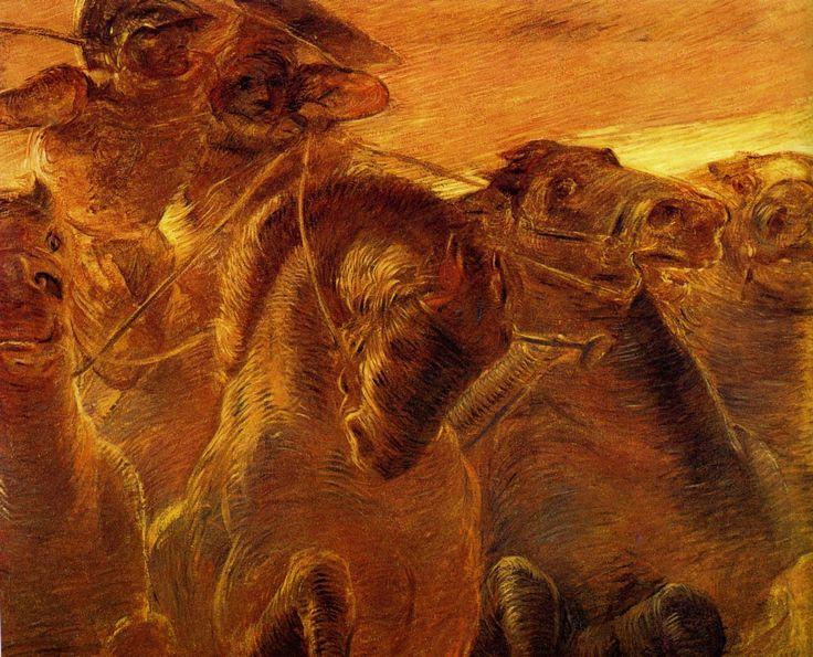 Gaetano Previati (Italian, 1852-1920). Eroica, 1907