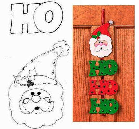 Estos lindos colgantes pueden ser usados para adornar el árbol de Navidad, en una caja para regalo, en una tarjeta navideña, en la escuela para que los propios niños los confeccionen, en fin… donde lo dicte tu creatividad. Si en tu ciudad no tienes foami o goma eva decorado, para hacer esos puntos en el …