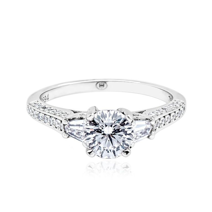 Crisscut Engagement Rings