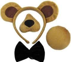 Resultado de imagen para disfraz oso