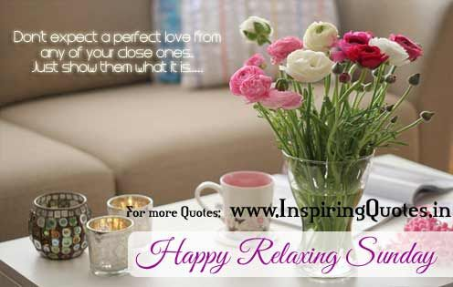 Happy Sunday Morning Wishes Quotes - Wish you a Happy Sunday
