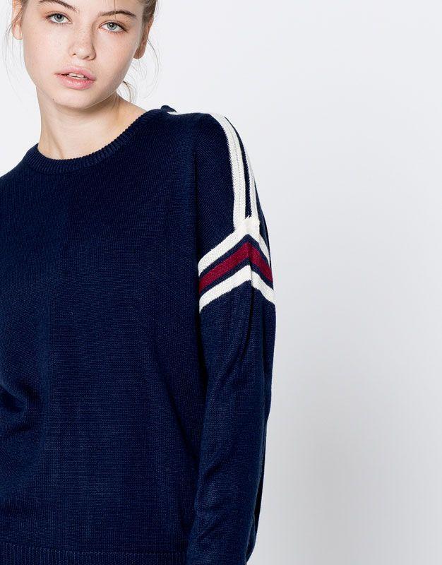 Pull sport - Pull - Maille - Vêtements - Femme - PULL&BEAR France