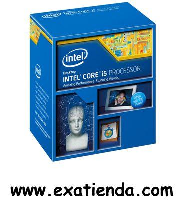Ya disponible Cpu Intel s 1150 core i5   (por sólo 194.99 € IVA incluído):   -Socket soportado: LGA 1150 -Cache: 6MB -Numero de nucleos:4 -Conjunto de instrucciones: 64-bit -Velocidad de Reloj: 3,0 GHz (turbo 3.2GHz) -Bus del Sistema: -- -Arquitectura: 22 nm -Intel Graphics:Intel HD Graphics 4600 -Formato:BOX      Garantía de 24 meses.  http://www.exabyteinformatica.com/tienda/772-cpu-intel-s-1150-core-i5-4430-3-ghz-box #intel #exabyteinformatica