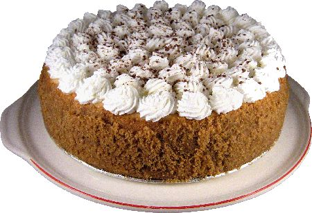 That's right...Bailey's Irish Cream Cheese Cake! I hope we can have this as an option, too.
