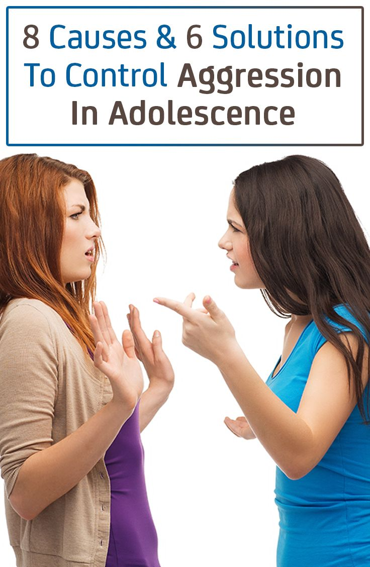8 Causes & 6 Solutions To Control Aggression In Adolescence