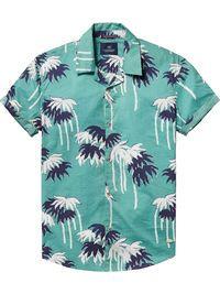Chemise hawaïenne imprimée