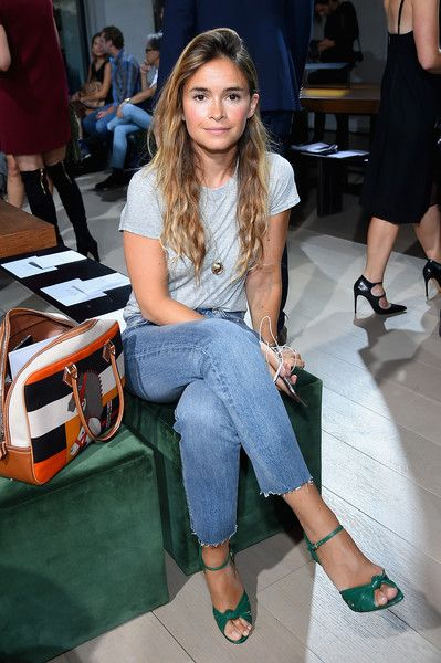 Miroslava Duma Photos Photos - Miroslava Duma attends the Jason Wu fashon show…