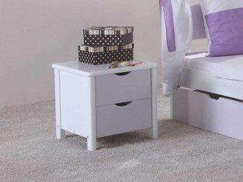 Bukový noční stolek Wendy 20